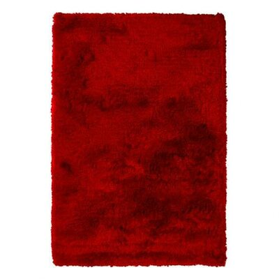 Levy Red Area Rug Rug Size: 5 x 76