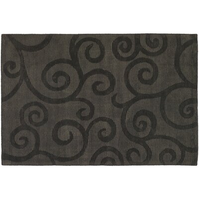 Sergey Dark Brown Area Rug