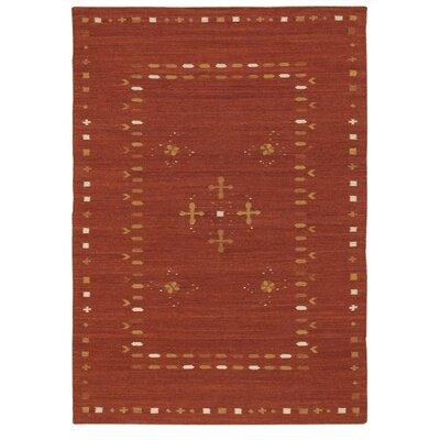 Kilim Area Rug Rug Size: 36 x 56