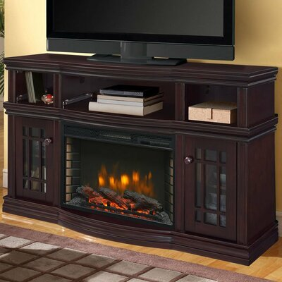 Sutton Media 56 TV Stand with Fireplace