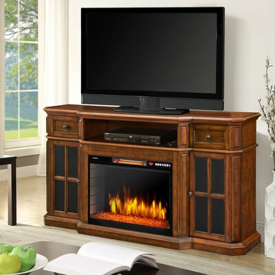 Sinclair 60 TV Stand with Fireplace