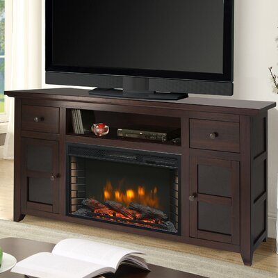 Winchester 56 TV Stand with Electric Fireplace