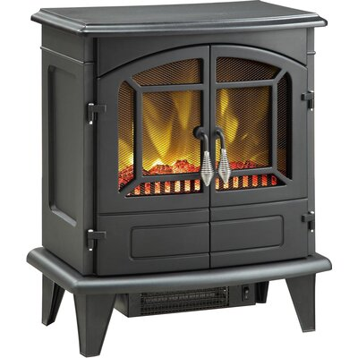 Muskoka Mes30bl 3 Phoenix 400 Square Foot Electric Fireplace Stove Reviews
