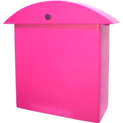 HouseArt Monet Wall Mounted Mailbox - Finish: Bougainvillea Pink at Sears.com