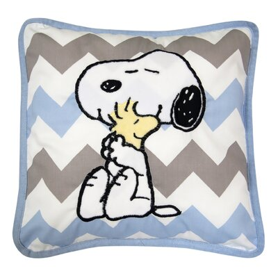 My Little Snoopy Throw Pillow