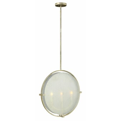 Helios 3-Light Globe Pendant