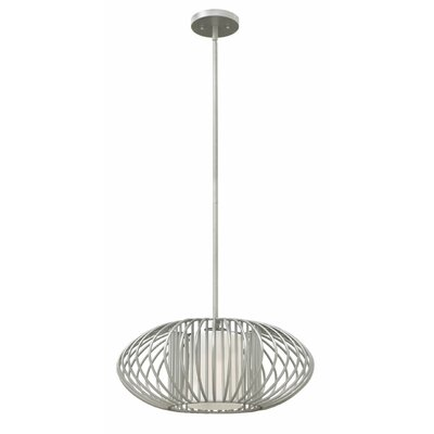 Vibe 1-Light Drum Pendant Finish: Titanium
