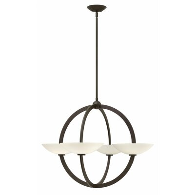 Method 4-Light Candle-Style Chandelier Finish: Vintage Bronze