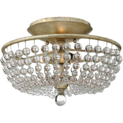 Caspia 2-Light Semi Flush Mount