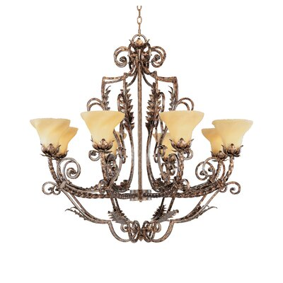 Firenza 8-Light Candle-Style Chandelier