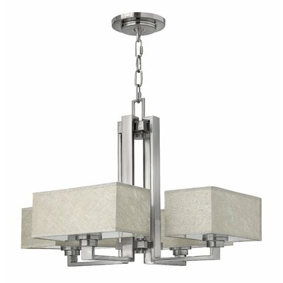 Quattro 4-Light Candle-Style Chandelier