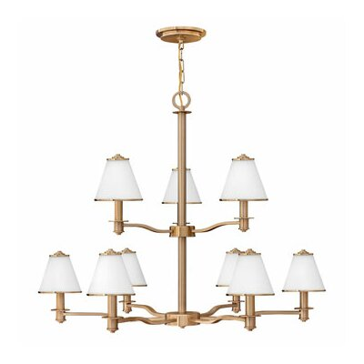 Coco 9-Light Candle-Style Chandelier