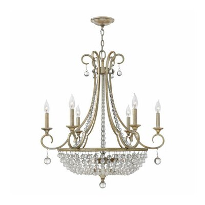 Caspia 9-Light Crystal Chandelier