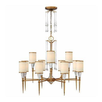 Bentley 12-Light Candle-Style Chandelier