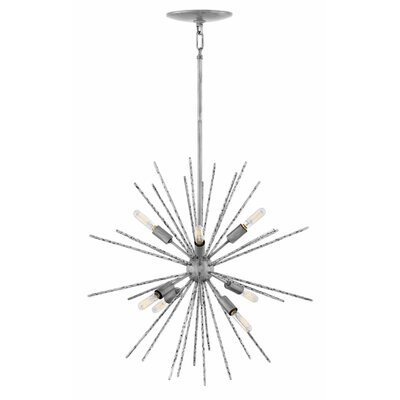 Tryst 8-Light Sputnik Chandelier Finish: Burnished Nickel