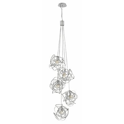 Rumor 5-Light Cluster Pendant