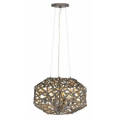 Kestrel Single Tier 3-Light Foyer Pendant