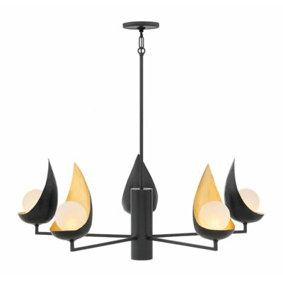 Ren 5-Light Candle-Style Chandelier