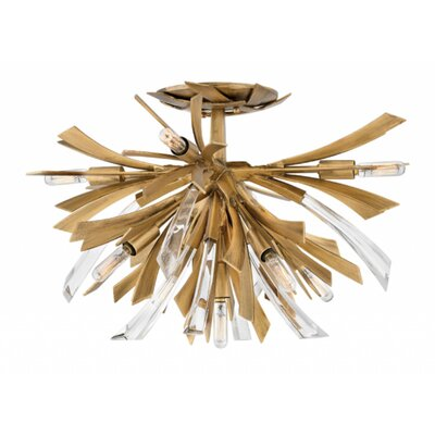 Vida 9-Light Semi Flush Mount