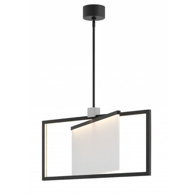 Folio Single LED Geometric Pendant