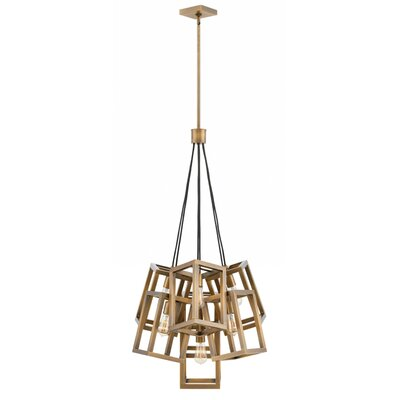 Reiber 7-Light Cluster Pendant Finish: Brushed Bronze