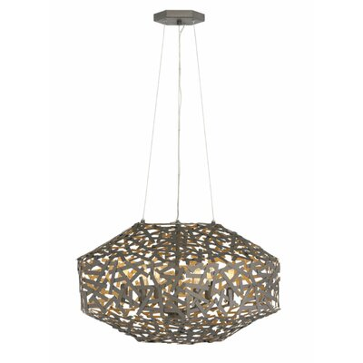 Kestrel Single Tier 6-Light Foyer Pendant
