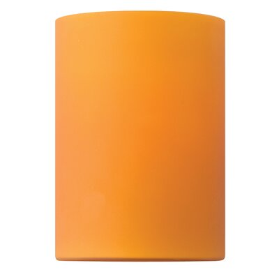 Vivo 4 Glass Drum Wall Sconce Shade Finish: Caramel