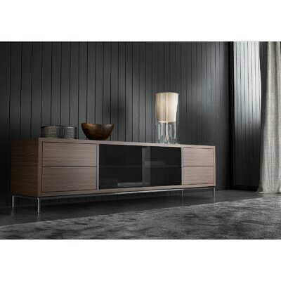 83 TV Stand Color: Walnut