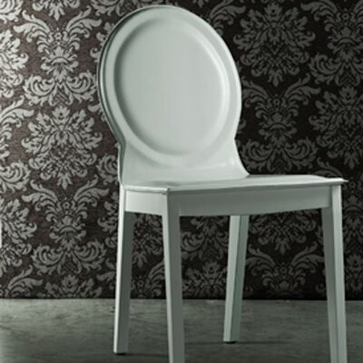 Lime Side Chair Finish: White