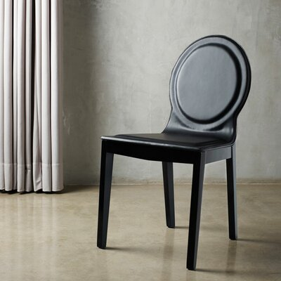 Lime Side Chair Finish: Black