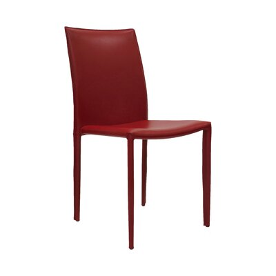 Varick Side Chair (Set of 2) Finish: Red