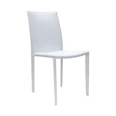 Varick Side Chair (Set of 2) Finish: White