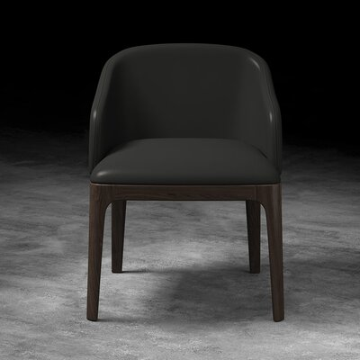 Wooster Arm Chair Upholstery: Gunmetal