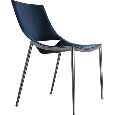 Sloane Genuine Leather Upholstered Dining Chair