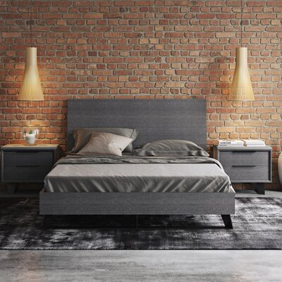 Amsterdam Platform Bed Size: King