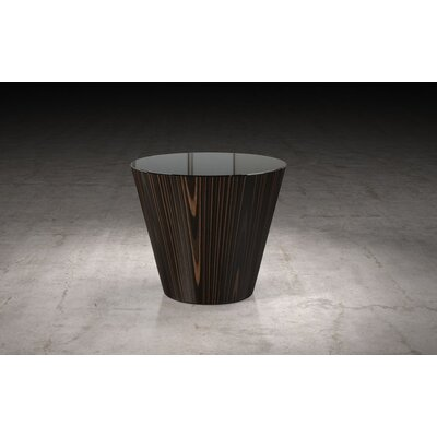 Dorset End Table Finish: Brown Oak/Brown