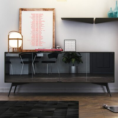 Christopher Sideboard Finish: Asphalt Matte