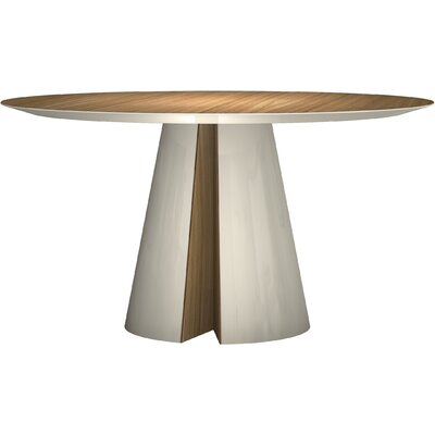 Tottenham Dining Table Finish: Natural Oak / Beige Lacquer