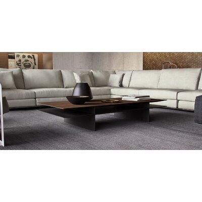 Kensington Coffee Table Color: Walnut / Graphite