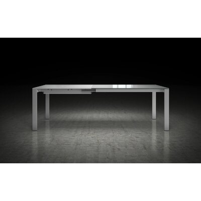Napoli Dining Table Finish: White Glass / White Matte