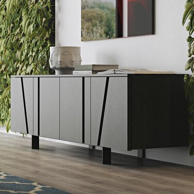Mott Sideboard Color: Gray Oak