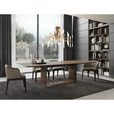Greenwich Dining Table Size: 30 H x 45 W x 106 L