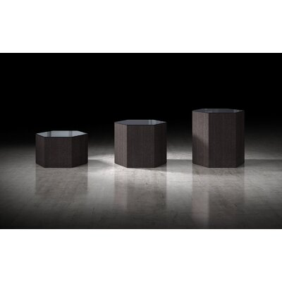 Centre Coffee Table Top Finish: Asphalt, Size: 18 H x 18 W x 18 D