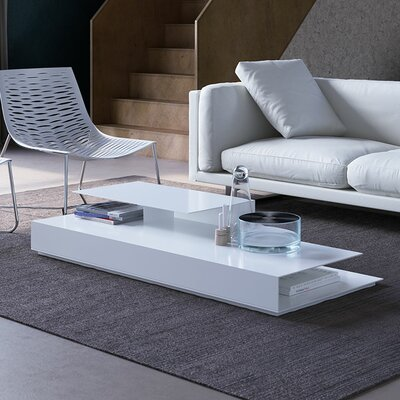 Acton Coffee Table Finish: White