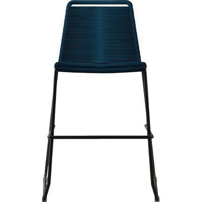 Barclay 25 inch Bar Stool Finish: Blue