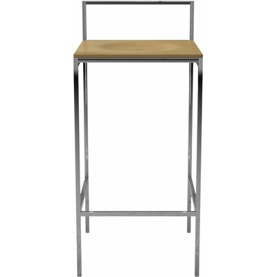 Udine 30 Bar Stool Finish: Natural Oak