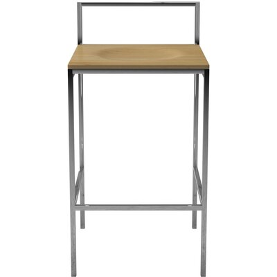 Udine 26 Bar Stool Finish: Natural Oak