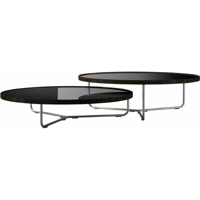 Adelphi Coffee Table Top Finish: Black