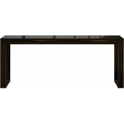 Hanover Console Table Finish: Cathedral Ebony
