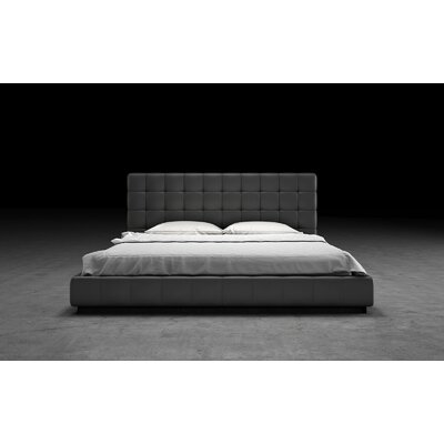 Thompson Upholstered Platform Bed Size: Queen, Finish: Eiffel Tower